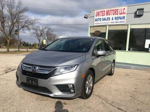 2018 Honda Odyssey for sale at United Motors LLC in Saint Francis WI