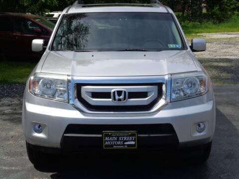 2011 Honda Pilot for sale at MAIN STREET MOTORS in Norristown PA