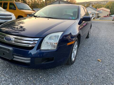 2006 Ford Fusion for sale at JM Auto Sales in Shenandoah PA