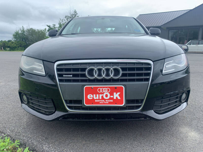 2012 Audi A4 for sale at eurO-K in Benton ME