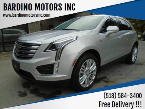 2017 Cadillac XT5 for sale at BARDINO MOTORS INC in Saratoga Springs NY
