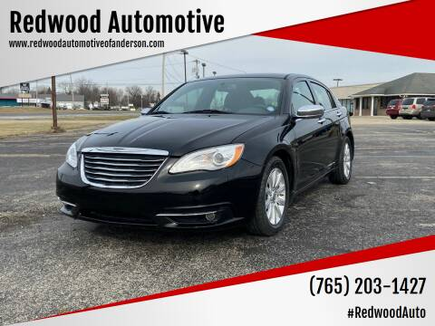 2014 Chrysler 200 for sale at Redwood Automotive in Anderson IN