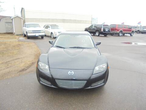 2004 Mazda RX-8 for sale at Engels Autos Inc in Ramsey MN