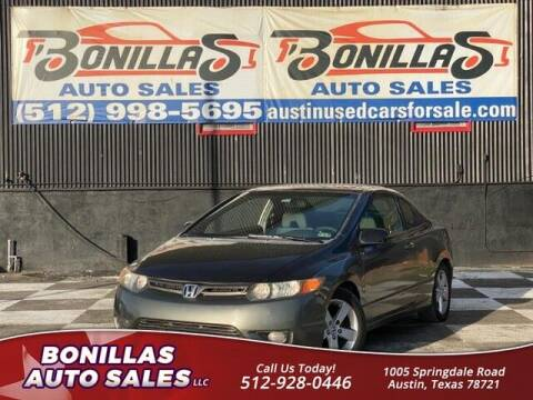 2007 Honda Civic for sale at Bonillas Auto Sales in Austin TX