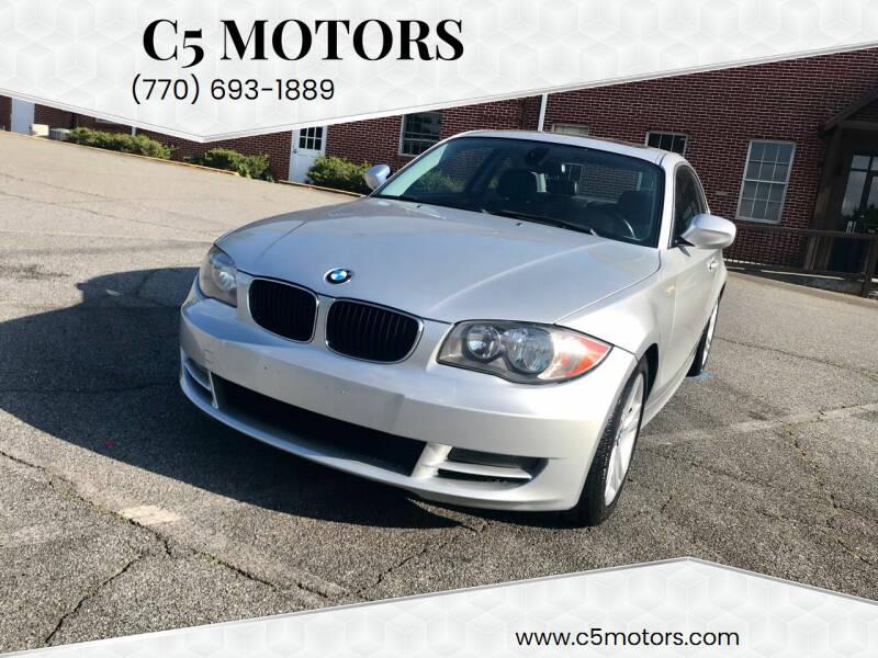 2011 BMW 1 Series for sale at C5 Motors in Marietta GA