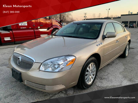 2006 Buick Lucerne for sale at Klean Motorsports in Skokie IL