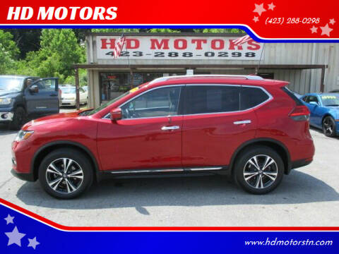 2017 Nissan Rogue for sale at HD MOTORS in Kingsport TN
