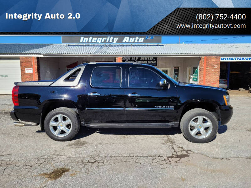 2010 Chevrolet Avalanche for sale at Integrity Auto 2.0 in Saint Albans VT
