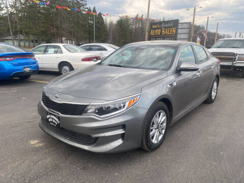 2018 Kia Optima for sale at Affordable Auto Sales in Webster WI