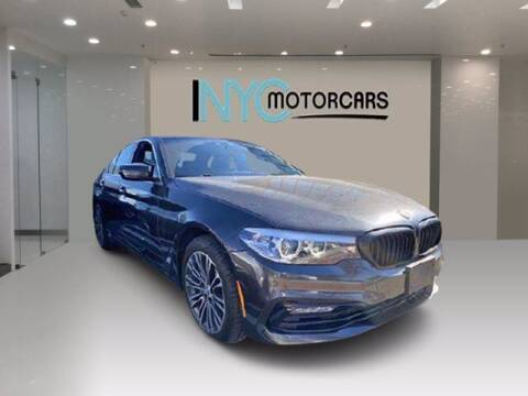 2018 BMW 5 Series for sale at NYC Motorcars in Freeport NY