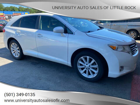 2009 Toyota Venza for sale at University Auto Sales of Little Rock in Little Rock AR