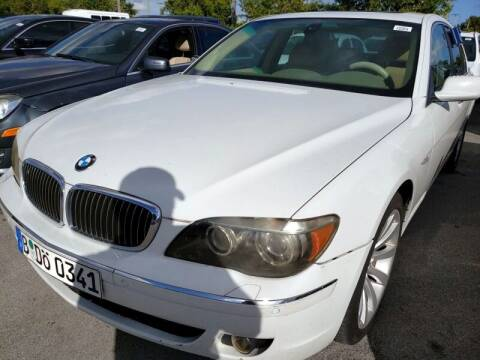 2006 BMW 7 Series for sale at JacksonvilleMotorMall.com in Jacksonville FL