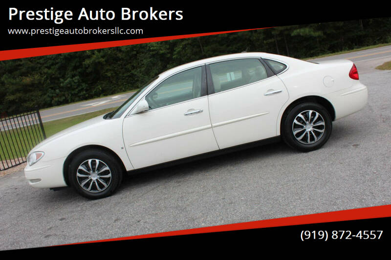 2007 Buick LaCrosse for sale at Prestige Auto Brokers in Raleigh NC