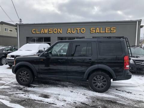 2005 Land Rover LR3 for sale at Clawson Auto Sales in Clawson MI