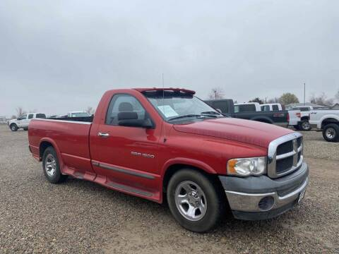 2004 Dodge Ram Pickup 1500 for sale at BERKENKOTTER MOTORS in Brighton CO