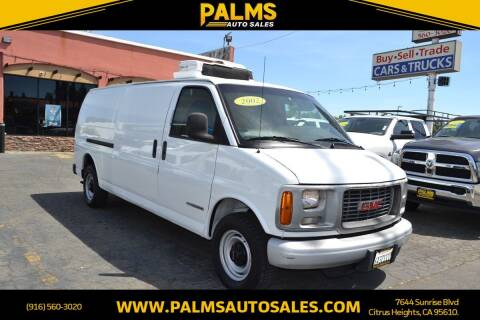 2002 GMC Savana Cargo for sale at Palms Auto Sales in Citrus Heights CA