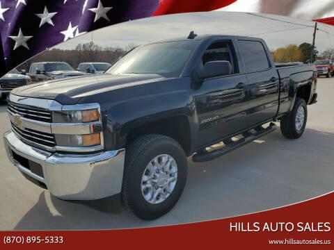 2018 Chevrolet Silverado 2500HD for sale at Hills Auto Sales in Salem AR