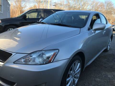 2007 Lexus IS 250 for sale at Best Choice Auto Market in Swansea MA