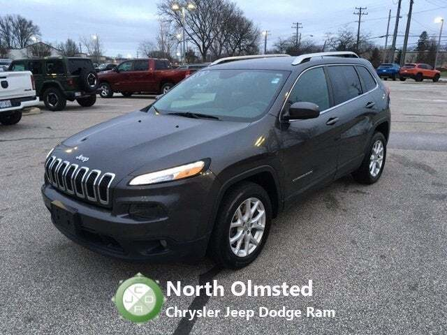 2015 Jeep Cherokee for sale at North Olmsted Chrysler Jeep Dodge Ram in North Olmsted OH