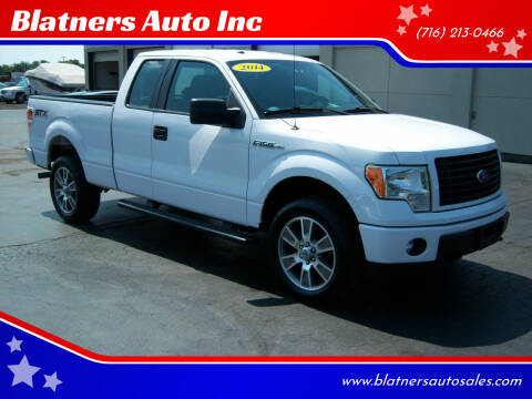2014 Ford F-150 for sale at Blatners Auto Inc in North Tonawanda NY