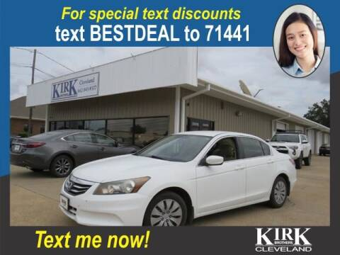 2012 Honda Accord for sale at Kirk Brothers of Cleveland in Cleveland MS
