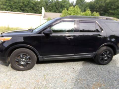 2012 Ford Explorer for sale at West End Auto Sales LLC in Richmond VA