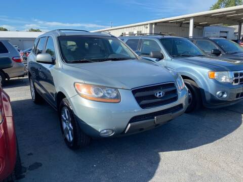 2008 Hyundai Santa Fe for sale at Lakeshore Auto Wholesalers in Amherst OH