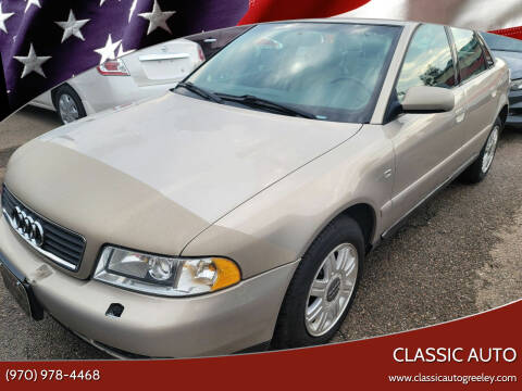 2001 Audi A4 for sale at Classic Auto in Greeley CO