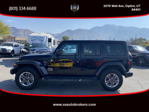 2020 Jeep Wrangler Unlimited for sale at S S Auto Brokers in Ogden UT
