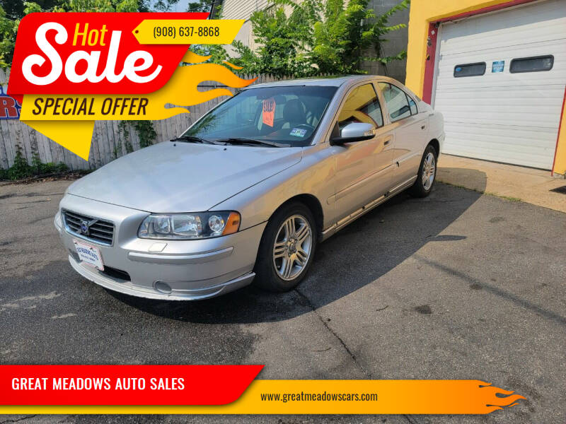 2008 Volvo S60 for sale at GREAT MEADOWS AUTO SALES in Great Meadows NJ