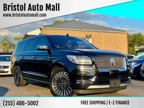 2018 Lincoln Navigator L for sale at Bristol Auto Mall in Levittown PA