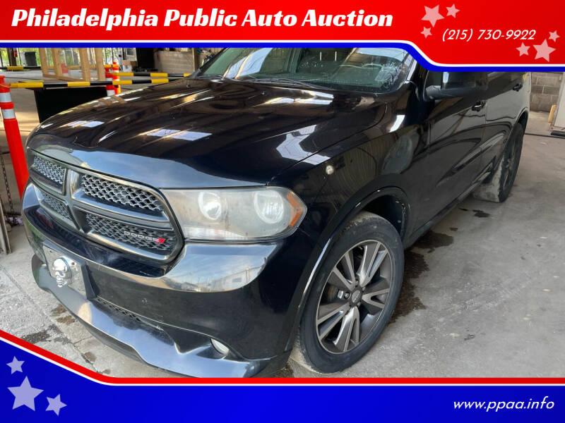 2013 Dodge Durango for sale at Philadelphia Public Auto Auction in Philadelphia PA
