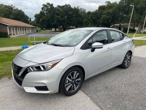 2021 Nissan Versa for sale at P J Auto Trading Inc in Orlando FL