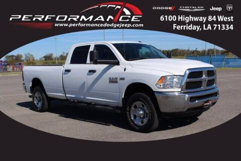 2018 RAM Ram Pickup 2500 for sale at Performance Dodge Chrysler Jeep in Ferriday LA