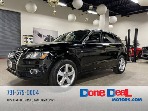 2011 Audi Q5 for sale at DONE DEAL MOTORS in Canton MA