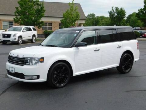2017 Ford Flex for sale at Cj king of car loans/JJ's Best Auto Sales in Troy MI