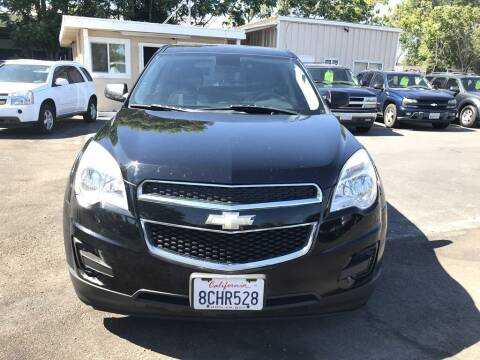 2012 Chevrolet Equinox for sale at EXPRESS CREDIT MOTORS in San Jose CA