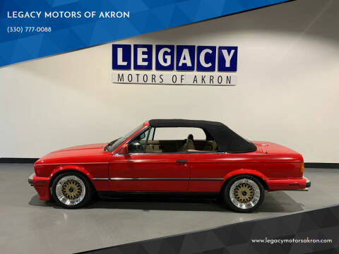 1990 BMW 3 Series for sale at LEGACY MOTORS OF AKRON in Akron OH