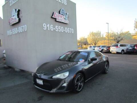 2013 Scion FR-S for sale at LIONS AUTO SALES in Sacramento CA