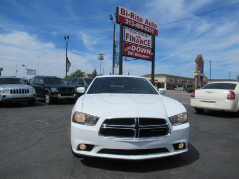 2012 Dodge Charger for sale at Bi-Rite Auto Sales in Clinton Township MI