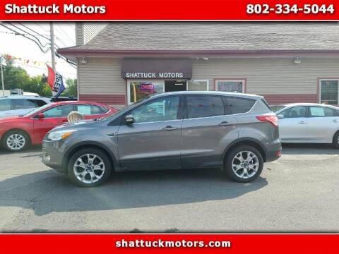 2013 Ford Escape for sale at Shattuck Motors in Newport VT