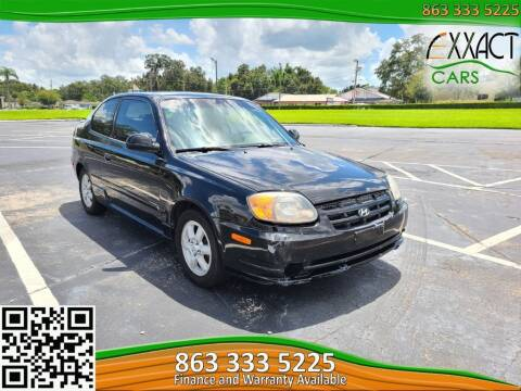 2005 Hyundai Accent for sale at Exxact Cars in Lakeland FL