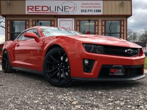 2012 Chevrolet Camaro for sale at REDLINE AUTO SALES LLC in Cedar Creek TX