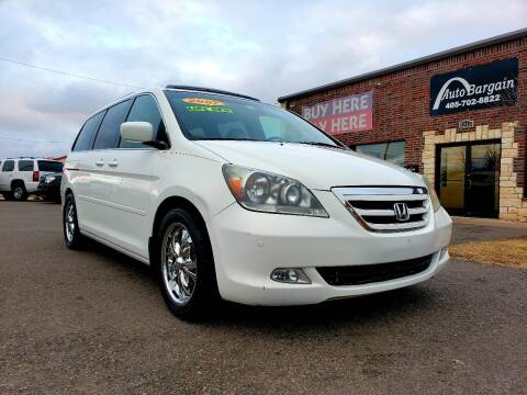 2007 Honda Odyssey for sale at AUTO BARGAIN, INC. #2 in Oklahoma City OK
