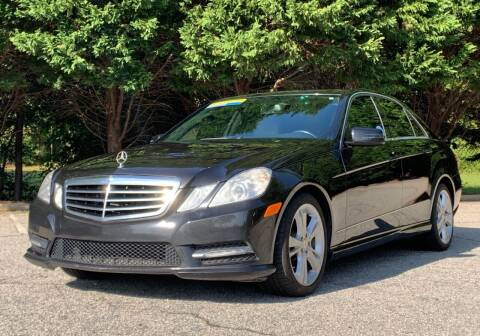 2013 Mercedes-Benz E-Class for sale at GR Motor Company in Garner NC