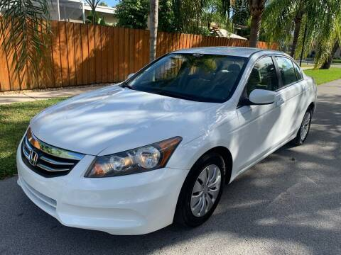 2011 Honda Accord for sale at FINANCIAL CLAIMS & SERVICING INC in Hollywood FL