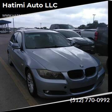 2009 BMW 3 Series for sale at Hatimi Auto LLC in Buda TX