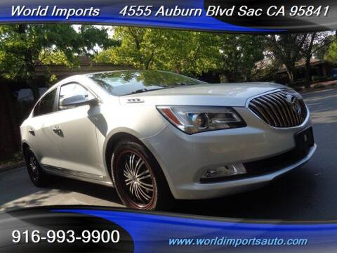 2015 Buick LaCrosse for sale at World Imports in Sacramento CA