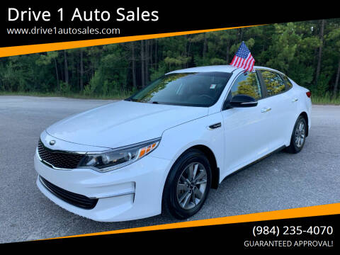 2017 Kia Optima for sale at Drive 1 Auto Sales in Wake Forest NC