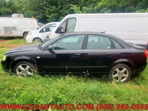 2005 Audi A4 for sale at East Coast Auto Source Inc. in Bedford VA